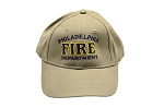 Philadelphia Fire Department Hat Khaki
