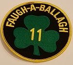 Philadelphia Fire Department Ladder 11 Memorial Patch FF John Redmond Faugh-A-Ballagh