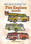 Shiny Fire Engines Stickers