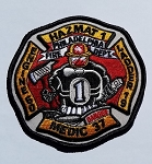 Philadelphia Fire Department  Patch Hazmat 1 Foam 60 Ladder 19 (NEW)