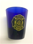 Shot Glass Philadelphia Fire Department Crest