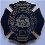 Philadelphia Fire Department Maltese Cross Pin