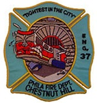 Philadelphia Fire Department Unit Patch Engine 37