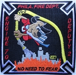 Philadelphia Fire Department  Patch Engine 70 Deputy 2