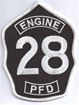 Philadelphia Fire Department  Patch Engine 28