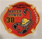 Philadelphia Fire Department  Patch Tacony Water Tower 38