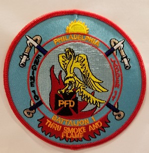 Philadelphia Fire Department Unit Patch Engine 10 Ladder 11