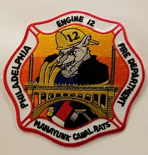 Philadelphia Fire Department  Patch Engine 12 (New)