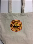 Fireman's Hall Museum Crest Tote Bag