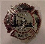 Fireman's Hall Museum Lapel Pin