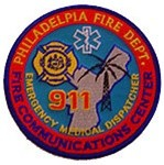 Philadelphia Fire Department 911 Communications Center Patch A