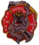 Philadelphia Fire Department  Patch Engine 41 Ladder 24 Medic 23