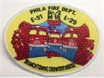 Philadelphia Fire Department  Patch Engine 51
