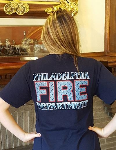 Pfd Adult Diamond Plate Logo T Shirt