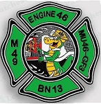 Philadelphia Fire Department  Patch Engine 46
