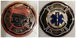 Fireman's Hall Museum EMS Challenge Coin