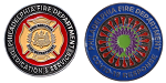 Limited Edition Philadelphia Fire Department / COVID-19 Challenge Coin
