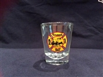 Shot Glass with Fireman's Hall Museum Crest