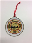Christmas Ornament Fireman's Hall Museum Maltese Cross