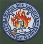 Unit Patch Philadelphia Fire Marshals Office