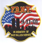 FDNY Commemorative 911 Patch