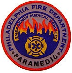 Philadelphia Fire Department  Patch Paramedics EMS