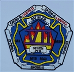 Philadelphia Fire Department  Patch Battalion 7