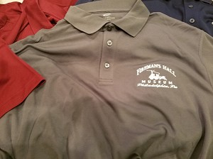 Fireman's Hall Museum Enbroidered Polo Shirt