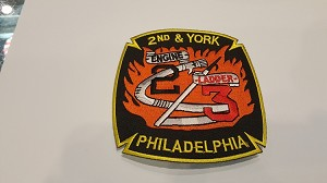 Philadelphia Fire Department Patch Engine 2