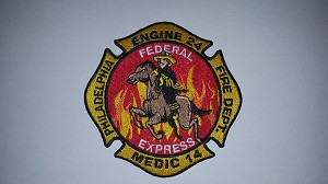 Philadelphia Fire Department Unit patch Engine 24 (COPY)