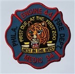 Philadelphia Fire Department  Patch Engine 44 Medic 34