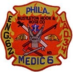 Philadelphia Fire Department  Patch Engine 62 Ladder 34 Medic 6
