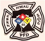 Philadelphia Fire Dept Patch Hazmat Admin Unit